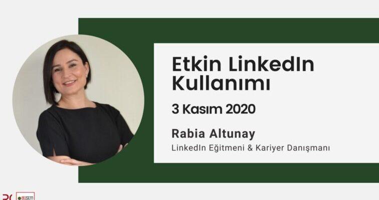 Beykent Üniversitesi Eğitim Merkezi Ile Beraber Düzenlediğimiz LinkedIn Etkin Kullanım Eğitimi'ne Bekleriz